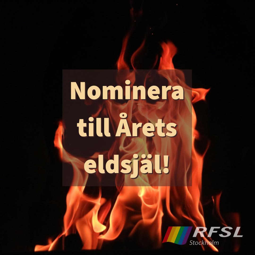 Nominera till Årets eldsjäl!