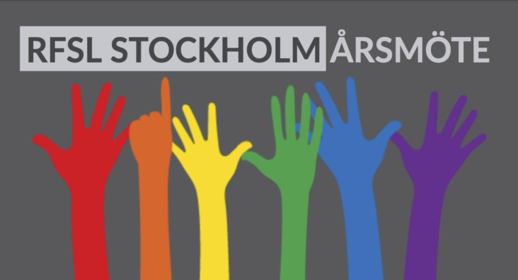 RFSL Stockholm Årsmöte