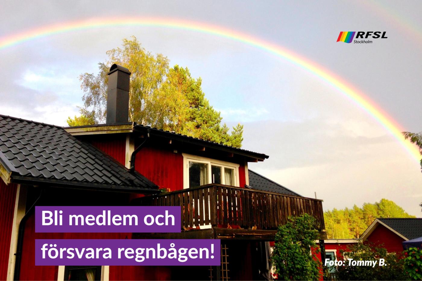 Bli medlem och försvara regnbågen!